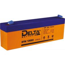 Аккумулятор DTM 12022 12В 2.2Ач