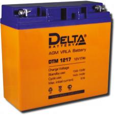 Аккумулятор DTM 1217  12В 17Ач