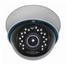 AV-IP2007-VAP Внутренняя купольная IP-видеокамера 2Mpix, 2,8-12мм. с аудиовходом