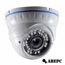 AV-IP2005-VP Уличная купольная антивандальная IP-видеокамера 2Mpix, 2,8-12мм.