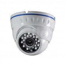 S106IR-ATC Уличная купольная антивандальная AHD-видеокамера 1Mpix, 2,8мм.