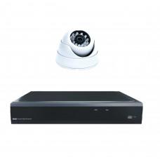 Комплект из 1 внутренней видеокамеры 2 Mpix и видеорегистратора