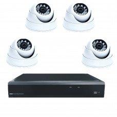 Комплект из 4 внутренних видеокамер 2 Mpix и видеорегистратора