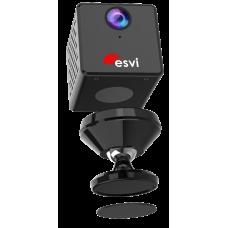 EVC-WIFI-ES23 Внутренняя миниатюрная IP-видеокамера, 2Mpix, 3,2мм со встроенным микрофоном, аккумулятором и Wi-Fi