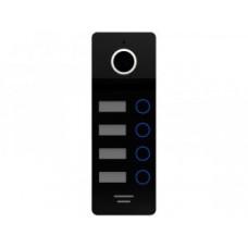 FE-324 silver/black Вызывная панель видеодомофона цветная 800ТВл