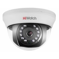 DS-T101 Внутренняя купольная AHD-видеокамера, 1Mpix, 2,8/3,6/6мм.