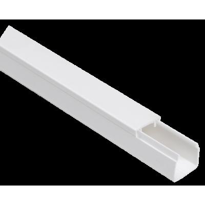 CKK10-012-012-1-K01 Кабель-канал 12x12мм белый ЭЛЕКОР (120м/уп)