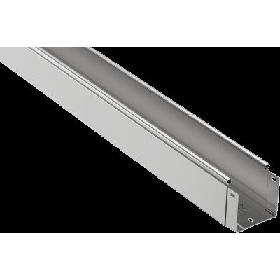 CLN10-100-100-3 Лоток неперфорированный 100х100х3000 0,7мм.