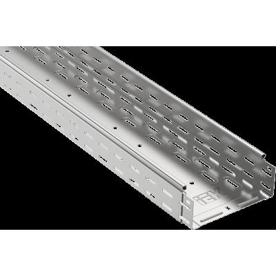 CLP10-080-300-3 Лоток перфорированный 80х300х3000 0,8мм.