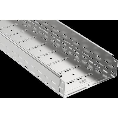 CLP10-100-200-3 Лоток перфорированный 100х200х3000 0,8мм.