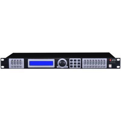 AFSP-048 Цифровой звуковой процессор, 4 входа, 8 выходов