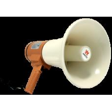 AT-M125A Мегафон ручной 15/25 Вт со встроенным микрофоном, 9 В