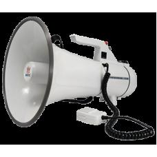 AT-M140BCA Мегафон ручной АТ-М140ВСА с выносным микрофоном, сигналом сирены и линейным входом