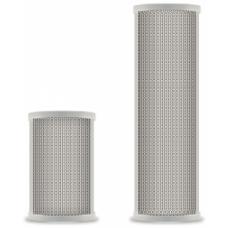 CS-10WA Громкоговоритель колонного типа, 2-полосный, 10 Вт, 90 дБ, 150-15000 Гц, светло-серый