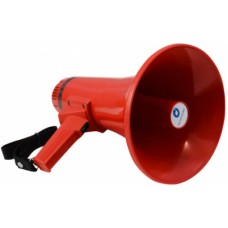 TS-115A Мегафон ручной 10/15 Вт со встроенным микрофоном, 9 В