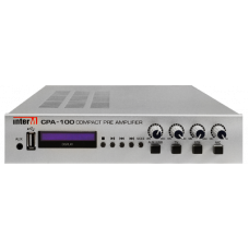 CPA-100 Микшер-предусилитель со встроенным MP3-проигрывателем и портом USB