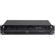 L-2400 Усилитель мощности, 2x1200 Вт (2 Ом), 20-20000 Гц