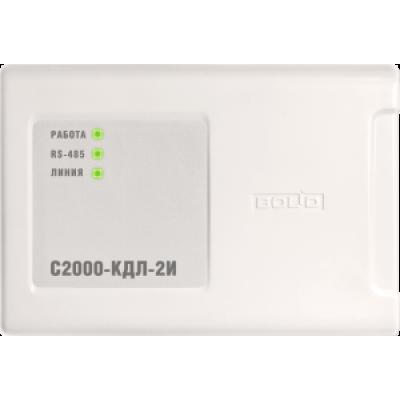 Контроллер двухпроводной линии связи с гальванической изоляцией С2000-КДЛ-2И