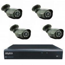 Комплект из 4 уличных видеокамер 2 Mpix и видеорегистратора