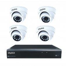 Комплект из 4 внутренних видеокамер 5 Mpix и видеорегистратора
