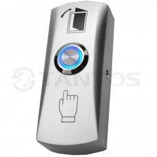 TDE-02 LIGHT Кнопка выхода накладная металлическая