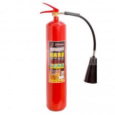 Огнетушитель углекислотный переносной ОУ-5  вместимость 7,2 л.