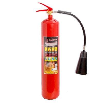 Огнетушитель углекислотный переносной ОУ-5  вместимость 7,2 л