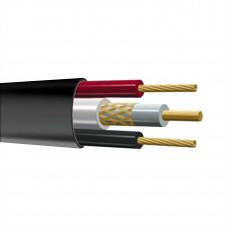 КВК-П 2х0,75 Кабель видеонаблюдения комбинированный внешний PLEXUS