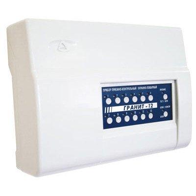 Гранит-12 с IP регистратором событий Прибор приемно-контрольный и управления охранно-пожарный