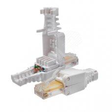 Коннекторы безинструментальные 8P8C (Компьютерный разъем) U/UTP Cat.5e (RJ-45)