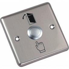 AT-H801B Кнопка выхода врезная металлическая