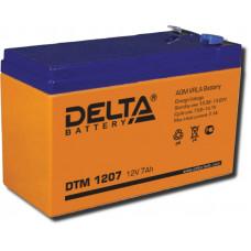 Аккумулятор DTM 1207 12В 7.2Ач