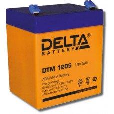 Аккумулятор DTM 1205 12В 5Ач