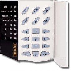 Пульт контроля и управления светодиодный охранно-пожарный С2000-КС