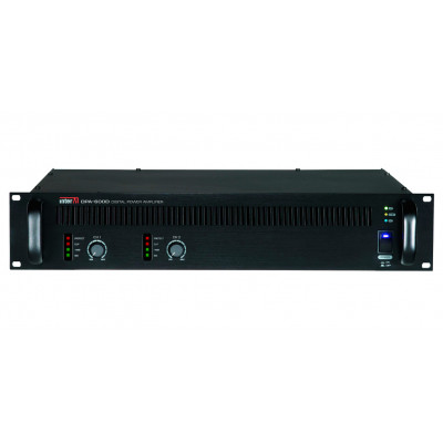 DPA-600D Двухканальный трансляционный цифровой усилитель мощности, 2 х 600 Вт
