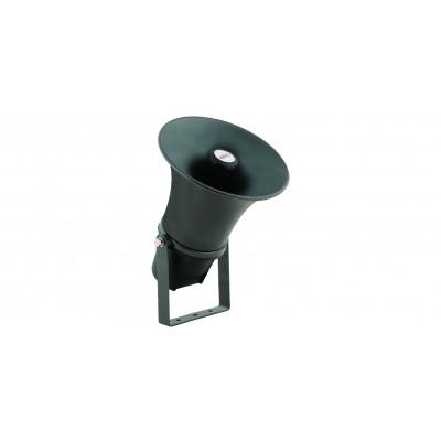 HS-20 Рупорный всепогодный громкоговоритель, 20 Вт, 106 дБ, 380-6500 Гц, круглый