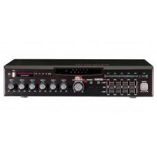 MA-206U Цифровой микшер-усилитель с USB-медиаплеером, 5 зон, 60 Вт, 5 унив., 1 лин., вход АТС